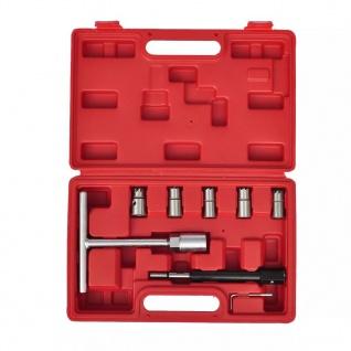 Injektoren Dichtsitzfräser Set, 7-teilig
