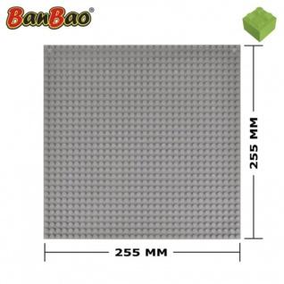 BanBao Grundplatte Bauplatte grau 8482