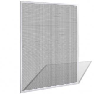 Insektengitter für Fenster 100 x 120 cm weiß