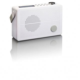 Lenco DAB + Uhrenradio mit FM PDR-030 Weiß