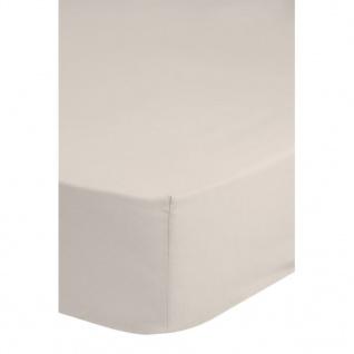 Emotion Bügelfreies Spannbettlaken 90x200 cm Sand 0220.06.42