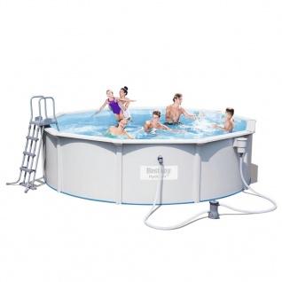 Bestway Pool-Set Jersey Rund Grau 460cm 56382