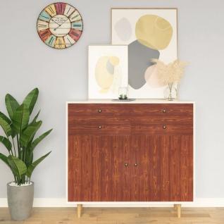 vidaXL Selbstklebende Möbelfolie Akazie 500x90 cm PVC