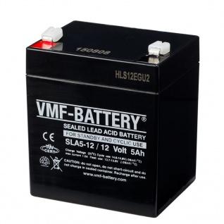 VMF AGM Batterie Standby und Zyklisch 12 V 5 Ah SLA5-12