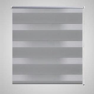 Doppelrollo 50 x 100 cm grau
