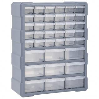vidaXL Multi-Schubladen-Organizer mit 39 Schubladen 38x16x47 cm