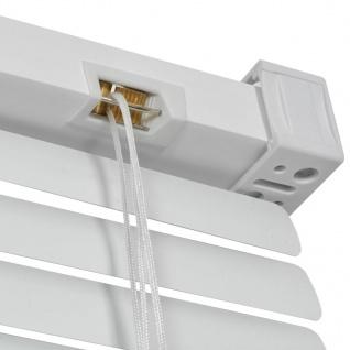 vidaXL Fensterjalousien Aluminium 140x220 cm Weiß - Vorschau 4