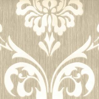 DUTCH WALLCOVERINGS Tapete Ornament-Muster Braun und Weiß 13110-30