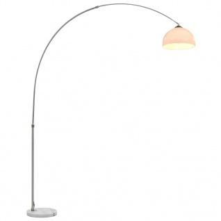 vidaXL Bogenlampe 60 W Silbern E27 200 cm