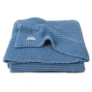Jollein Babydecke Grobstrick 75x100 cm Blau 516-511-65087