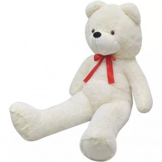 XXL Weicher Plüsch-Teddybär Weiß 100 cm - Vorschau 1