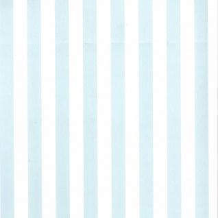 Fabulous World Tapete Stripes Weiß und Hellblau 67103-5