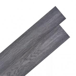 vidaXL PVC Laminat Dielen Selbstklebend 5, 02 m² 2 mm Schwarz und Weiß