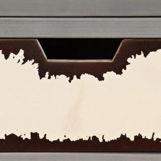 vidaXL Sideboard Mangoholz Massiv und Stahl 65 x 33 x 76 cm - Vorschau 4