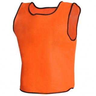 Orange Sportsshirts Sportweste für Kinder 10 Stück - Vorschau 3
