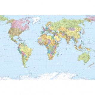 Komar Fotowandbild World Map XXL 368×248 cm XXL4-038