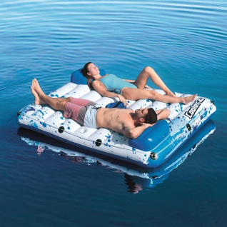 Bestway CoolerZ Badeinsel Side 2 Side Floating Lounge 43119