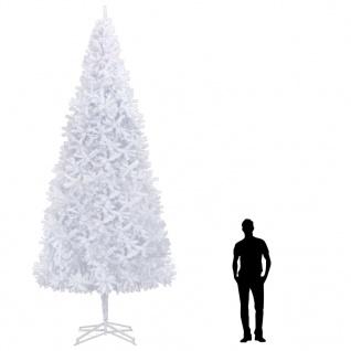 vidaXL Künstlicher Weihnachtsbaum 500 cm Weiß