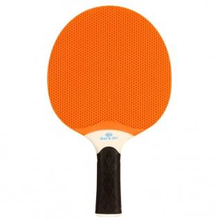 Get & Go Outdoor-Tischtennisschläger Orange und Blau