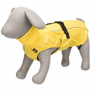 TRIXIE Hunde-Regenmantel Vimy L 55 cm Gelb