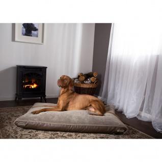 Scruffs & Tramps Hundebett Memory Foam Chateau Größe L Latte 1593 - Vorschau 2