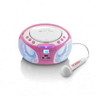 Lenco Radio und CD-Player SCD-650 Rosa