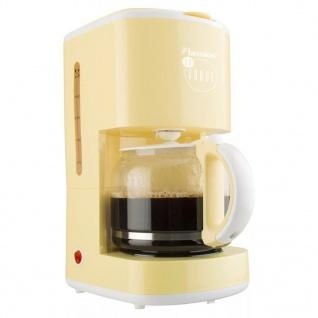 Bestron Kaffeemaschine 1080 W Vanillegelb ACM300EVV - Vorschau 1