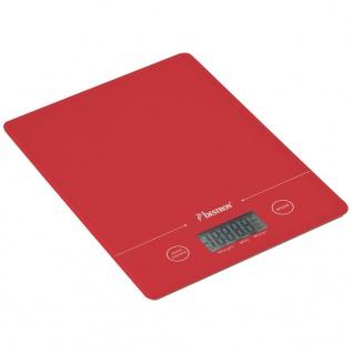 Bestron Küchenwaage 5 kg Rot AKS700R