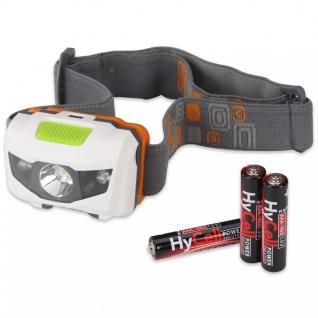 Ansmann LED Stirnlampe grau und weiß 1600-0077