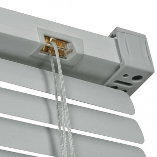 vidaXL Fensterjalousien Aluminium 120x220 cm Silber - Vorschau 4