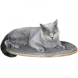 Kerbl Wandliegebrett für Katzen Tofana 35 x 50 cm Grau 81543