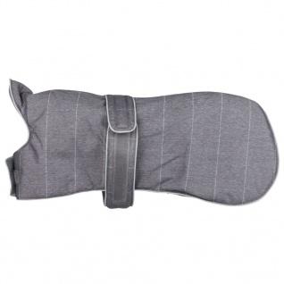 TRIXIE Wintermantel für Hunde Brest Größe L 62 cm Grau 67817