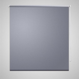 Verdunkelungsrollo 100 x 230 cm grau