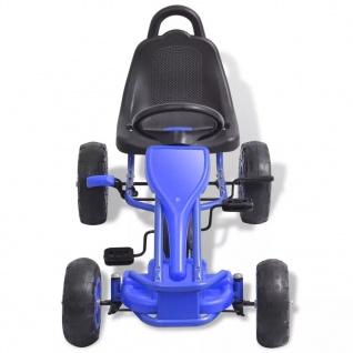 vidaXL Pedal Go-Kart mit Luftreifen Blau - Vorschau 3