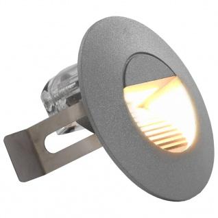 vidaXL Außenwandleuchten 6 Stk. LED 5 W Silbern Rund - Vorschau 2