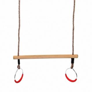 Swing King Trapez mit Ringen 58 cm Holz Beige 2521076