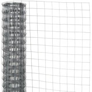 Nature Maschendraht Viereckgeflecht 1x2, 5 m 13 mm verzinkter Stahl