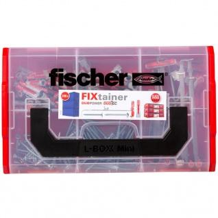 Fischer Dübel und Schrauben-Set FIXtainer DUOPOWER/DUOTEC 200 Stk. - Vorschau 4