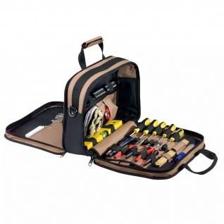 Toolpack Werkzeug- und Dokumententasche, Luxusausführung 360.043