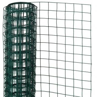 Nature Maschendraht Quadrat 0, 5x5m 13mm Kunststoffbeschichteter Stahl