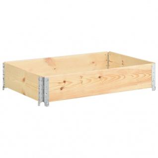 vidaXL Hochbeet 50x100 cm Kiefer Massivholz