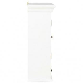 vidaXL Wandschrank Weiß 49 x 22 x 59 cm Massivholz - Vorschau 5