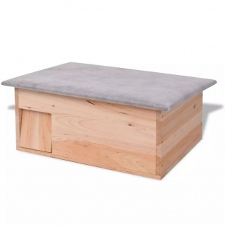 vidaXL Igelhaus 45x33x22 cm Holz