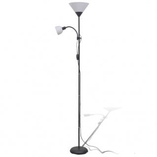 vidaXL Stehlampe Schwarz - Vorschau 2