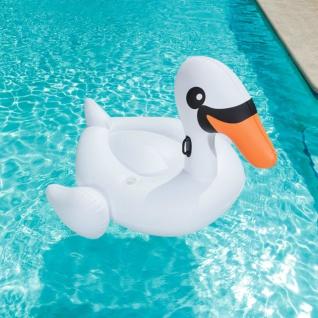Bestway Aufblasbares Schwimmtier Jumbo Schwan Zaina Weiß 41109