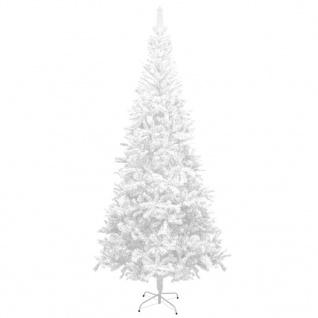vidaXL Künstlicher Weihnachtsbaum L 240 cm Weiß