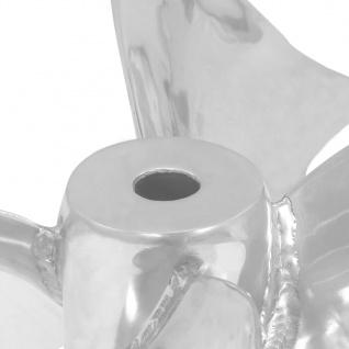 vidaXL Couchtisch Silbern 60x60x30 cm Aluminium und Gehärtetes Glas - Vorschau 5