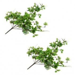 vidaXL Künstliche Blätter Traube 2 Stk. Grün 90 cm