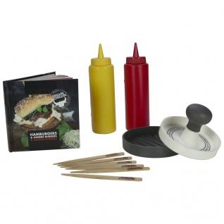 Gusta 13-teilige Hamburgerpresse Kunststoff 01151960