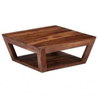 vidaXL Couchtisch 70×70×28 cm Massivholz